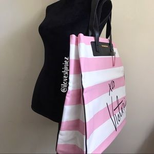 •Victoria's Secret• Canvas Beach Tote